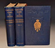 Lord Roberts of Kandahar - Forty-One Years in India From Subaltern to Commander-in-Chief. - 2 volumes - 1897