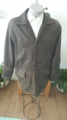 Camel Active - Leather coat