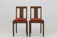 Art Deco - A pair of seats