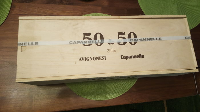 2005 50&50 Avignonesi & Capanelle - 1 Imperial bottle (6ltr) - Supertuscan