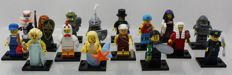 Mini figures series 9 - complete with all 16 figures and accessories