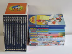 Donald Duck - 12 volumes AD in box + 12x Donald Duck Winterboek - 12xsc/12xhc - 1st edition (1985/2010)