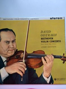 Beethoven Violin Concerto - David Oistrakh & French National Radio Orchestra conducted by André Cluytens