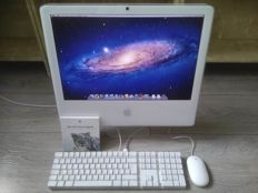 "Apple iMac 20"" - Intel Core2Duo 2.16Ghz, 4GB RAM, 250GB HD, Superdrive - model nr A1207 - with Apple keyboard, mouse, original software"