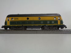 Roco H0 - 43452 - Diesel locomotive Series 5916 of the NMBS