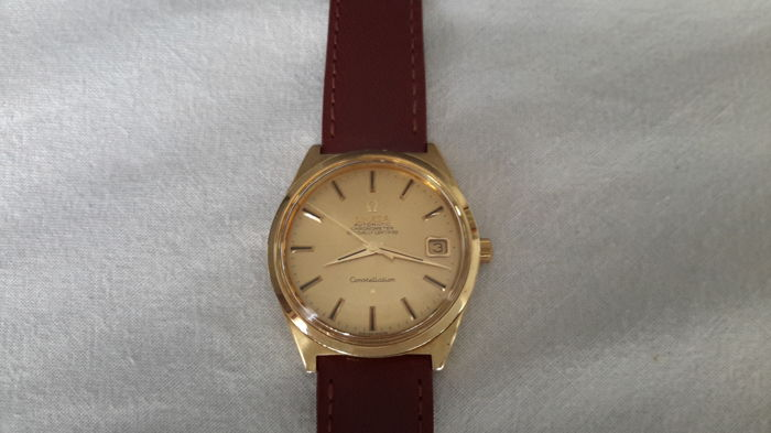 Omega Constellation Automatic Chronometer Officially Certified – Men's watch – 1968