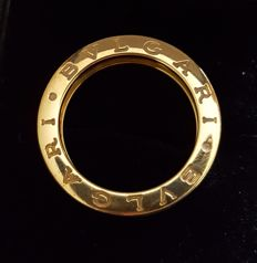 "Bulgari - ""B.Zero1"" 18K Yellow Gold ring - Size: 54"