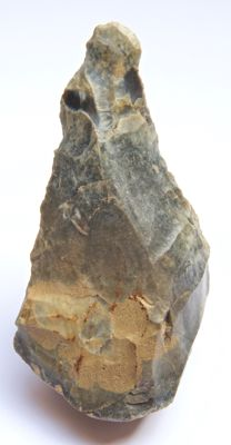 Palaeolithic flint biface from France - 115 mm