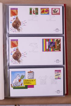 The Netherlands 1953/1995 – Batch of First Day Covers in 10 albums