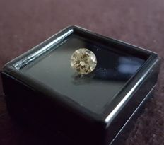 1.03 ct Fancy Yellow SI2 ** low reserve price **