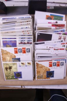 The Netherlands 1995/1999 - Batch of +/- 300 ECU letters in box