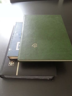 German Reich and Old states - batch in three stock books