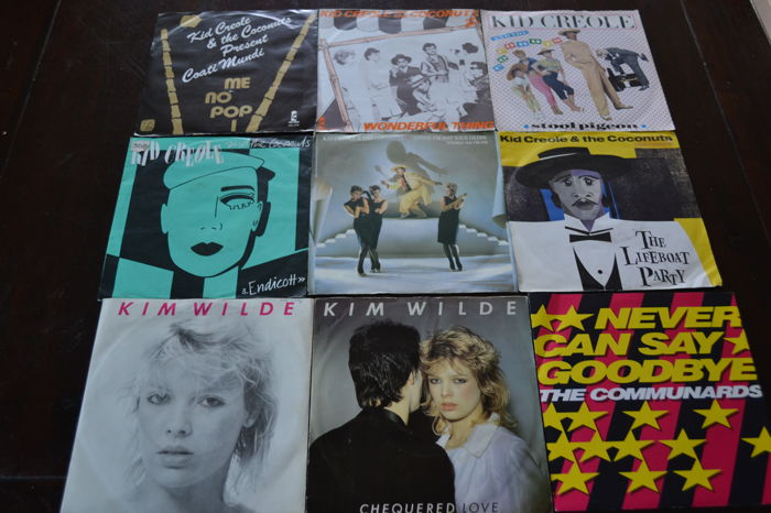 """best of the 70's & 80""""s : Sixty (60) -45 7' singles"""
