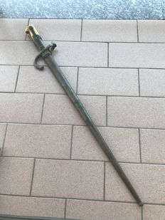 French Grass rifle bayonet