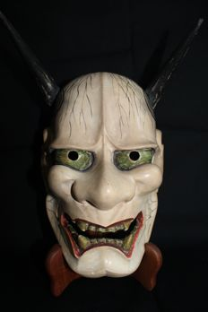 Hannya Noh Mask - Japan –early 20th century.