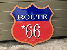 Route 66 - Emaillerie Belge - late 20th/early 21st century