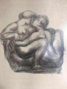 Aristide Maillol (1861-1944) (after) - Couple