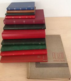 The Netherlands - batch in 12 stock books