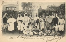 North Africa 98 x - Mostly Types, such as Beduines, veiled ladies and water carriers - 1900/1935