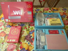 Limited Nintendo Wii Red 25th anniversary Super Mario including Game All star Edition 25th anniversary