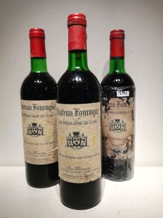 1976 Chateau Fonroque, Saint-Emilion Grand Cru Classe - 4 bottles
