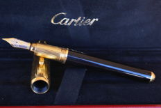 Luxury 18K Louis Cartier Gadroon Gold Plated