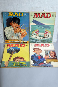 Collection Of Vintage MAD Magazine - X76 SC - ( 1970's/1980's)