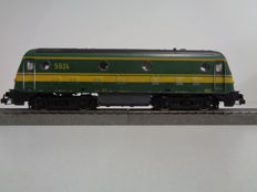 Roco H0 - 43452 - Diesel locomotive Series 5924 of the NMBS