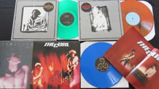 The Cure / The Smiths (2x) / Tuxedomoon: Great batch of 4 limited NEW WAVE LP's, 3/4 on coloured vinyl!