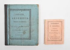 Lot with 2 children's books - 1823 / 1833