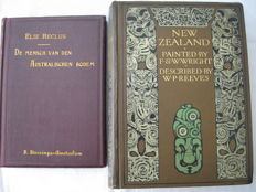 Lot with two editions over Australia and New Zealand -1898/1908