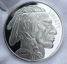1 OZ American Buffalo - Beautiful silver coin of 1 OZ!