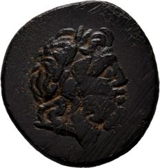 Greek Antiquity - PONTOS. Amisos. Ae (Late 2nd/Early 1st centuries BC). Time of Mithradates VI Eupator.