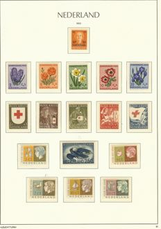 The Netherlands 1940/1992 - Collection in 2 Leuchtturm albums and a batch in 3 booklets