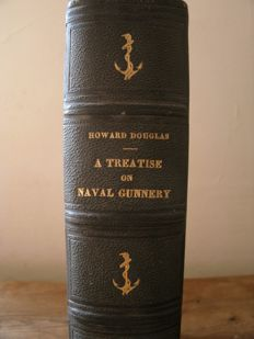 Howard Douglas - A Treatise on Naval Gunnery - 1855