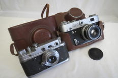 "Exclusive, rare camera ""Zorkiy-S"" CCCR, KMZ (Krasnogorsk) 1955-1958. Limited edition. As a gift of FED-3 FED (Kharkov) 1961-1979. (Not working)"