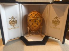 Imperial Fabergé egg - 1992 - Russia - In perfect condition + Certificate