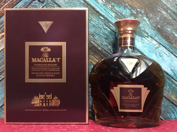 Macallan, The Chairman's Release 1700 - 700ml