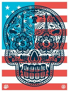 Shepard Fairey (OBEY) - Power & Glory Merica