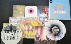 Hawkwind / Dead Skeletons / Sun Dial/Drug Emporium: Great (Psych)ROCK batch: 2x limited double albums (4LP's) + 3x 7inch singles