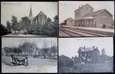 Belgium - period:1900/1930 very nice collection of 107 villages and towns