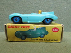 Dinky Toys - Scale 1/43 - Jaguar Type D Racing Car No.238