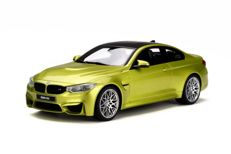 GT-Spirit - Scale 1/18 - BMW M4 Competition package - colour: Yellow