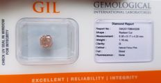 1.16 ct - Natural Diamond - Fancy Pink - No Reserve