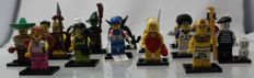 Mini figures series 2 - complete with all 16 figures and accessories