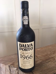 1966 Colheita Port Dalva Porto da Silva - 40 years old - bottled in 2006