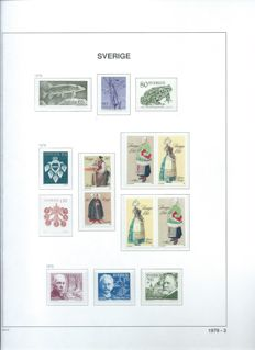 Sweden - Collection in 4 DAVO albums