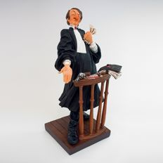 Guillermo Forchino Comic Art - The Lawyer 24 cm