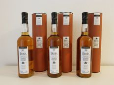 3 bottles - Brora 30 years old 2006 release