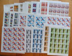 Hungary 1970/1980 - 270 stamps sheets